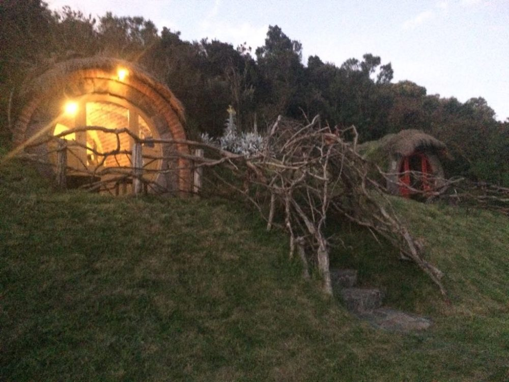 Hobbit hole secret garden hostel Ecuador