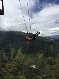 End of the world swing Ecuador