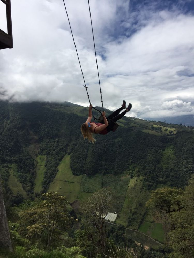 End of the world swing Ecuador