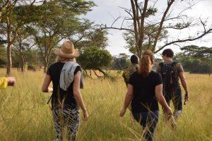 uganda safari walk