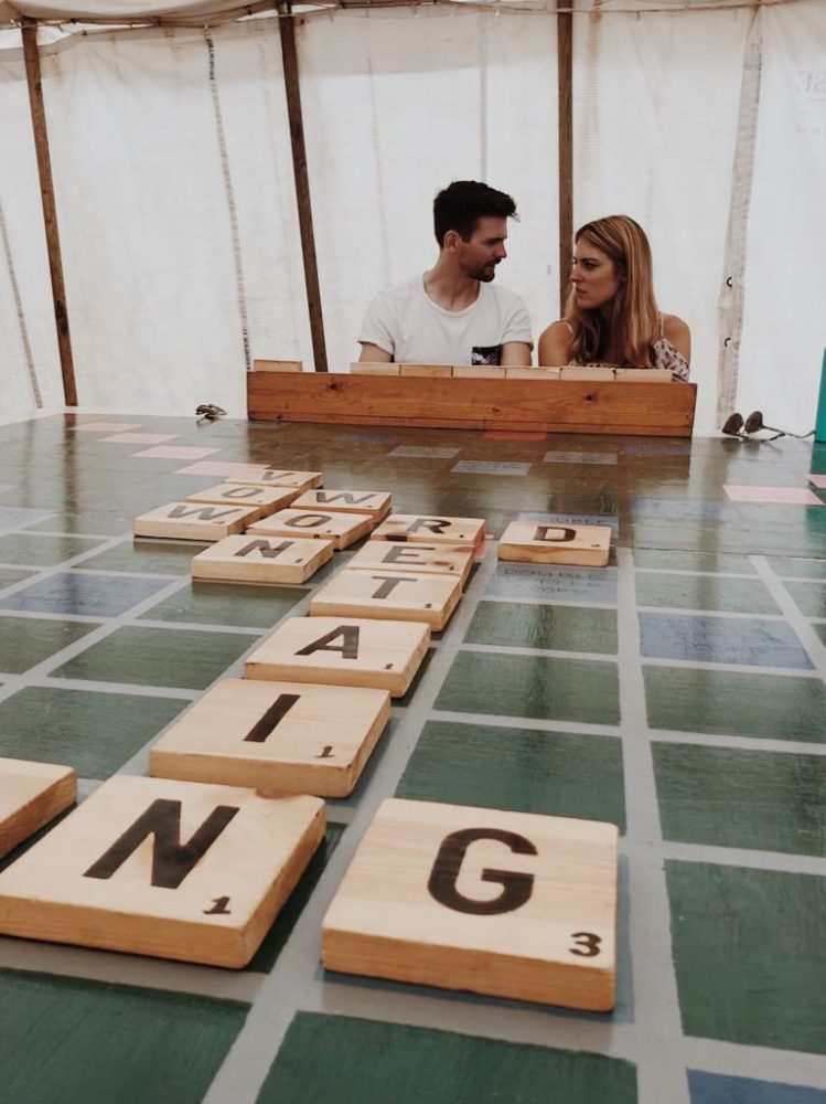 Wilderness scrabble